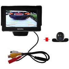 Souesa 4.3 inch <b>Car</b> Rear View Monitor Parking Reversing Camera ...