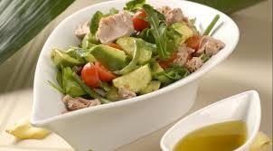 Картинки по запросу Салат с тунцом и авокадо