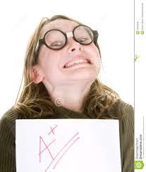 smart girl good grade royalty stock photos image 13452938 smart girl good grade