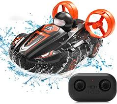 JJRC RC Stunt Car Water Land 2 in 1 Car Boat ... - Amazon.com