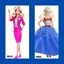 did barbie dolls kill your career aspirations barbie s new presidential model shows how female politicians have evolved