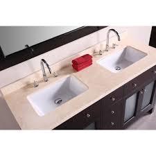 bathroom vanity 60 inch:  design element deca venetian  inch double sink bathroom vanity