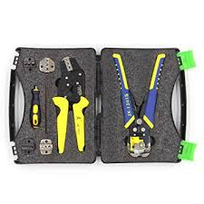 Festnight PARON <b>Professional Wire Crimpers</b> Kit Multifunctional ...