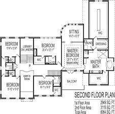 Square Foot Million Dollar House Floor Plans Bedroom Blueprintssix bedroom seven bath dual floor Colonial Style House SF Million Dollar Home Dallas