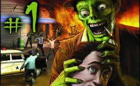 Прохождение Stubbs the Zombie #1 - Майкл восстал. - YouTube