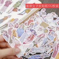 stickers girls <b>kawaii</b> scrapbooking sticker — купите stickers girls ...