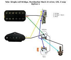 tele neck humbucker wiring diagram tele image tele single coil bridge humbucker neck wiring on tele neck humbucker wiring diagram