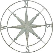 <b>Creative</b> Co-Op <b>Large Metal</b> Compass <b>Wall</b> Décor: Amazon.ca ...