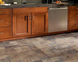 kitchen floor laminate tiles images picture: tile laminate floors in kitchen with wooden cabinet stainless steel kitchen appliances grey granite countertop