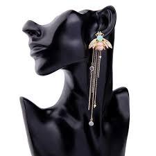 Stud <b>earrings female</b> fashion <b>personality</b> joker adorn article <b>Ms</b> bee ...
