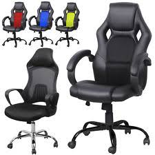 heavy duty high back executive racing office desk chair swivel bucket seat new bucket seat desk chair