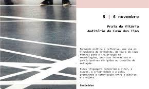 """Formação em """"Práticas Teatrais na Mediação Cultural"""" na Praia da Vitória"""