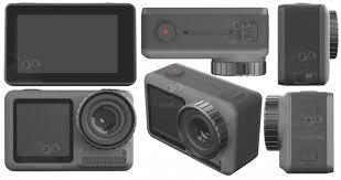 Изображения и характеристики спортивной <b>камеры DJI Osmo</b> ...