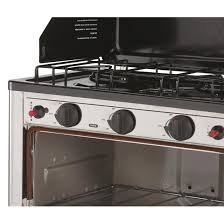 Gas Stainless Steel Cooktop Stansport Outdoor Propane Gas Stove And Camp Oven Stainless Steel