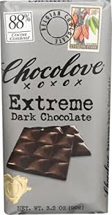 Chocolove, Extreme Dark Chocolate 88%, 3.2 oz ... - Amazon.com