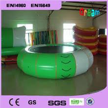 Бесплатная доставка диаметр 4 м 0,9 мм <b>надувной батут</b> для ...