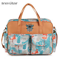 <b>Insular</b> 6068 Nylon <b>Diaper Bag</b> Water Resistant <b>Mother Nappy</b>