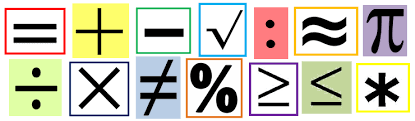 Image result for math symbols