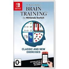 Купить Игра Nintendo Switch Dr Kawashima's Brain Training в ...