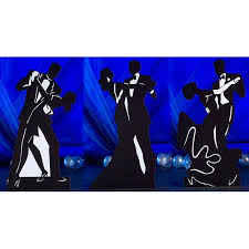 Image result for blue and black dancing couple