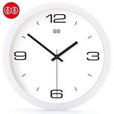 Jedfild Wall clock quiet modern simple European style ... - Amazon.com