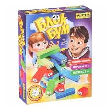 <b>Настольная семейная игра ФОРТУНА</b> Блок Бум — купить в ...