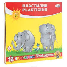 "<b>Пластилин Гамма</b> ""<b>Юный</b> художник"" со стеком, 12 цветов ..."