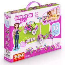 Конструктор <b>ENGINO</b> INVENTOR GIRLS Набор из 15 <b>моделей</b> ...