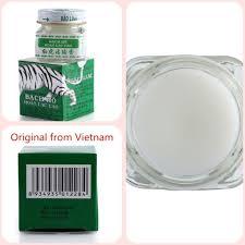 <b>Vietnam</b> White Tiger Balm Headache Toothache Relief Muscle Pain ...