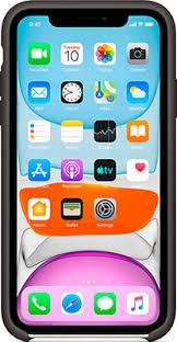 <b>Чехол силиконовый Apple Silicone</b> Case для iPhone 11 Black ...
