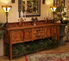 reclaimed wood sideboard spaces rustic with aged wood aged wood wooden sideboard furniture