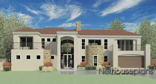 T D   NethouseplansModern tuscan style house plan  bedroom   double storey floor plans  house plans