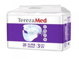 <b>Подгузники TerezaMed Super</b> Large №3 28шт