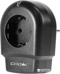 ROZETKA | <b>Сетевой фильтр Crown</b> CMPS-15 Черный. Цена ...