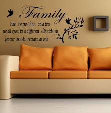 wall decal family art bedroom decor wall decor family room  s l wall decor family room