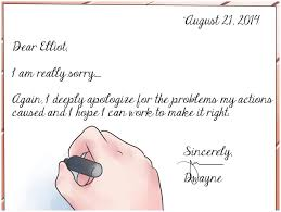 sample apology letter to boss how write a of for mistake business it
