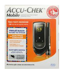 <b>Глюкометр</b> Акку-Чек Мобайл (<b>Accu</b>-<b>Chek Mobile</b>)
