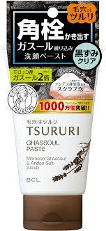 Tsururi <b>Пенка</b>-скраб для <b>глубокого очищения</b> кожи с ...