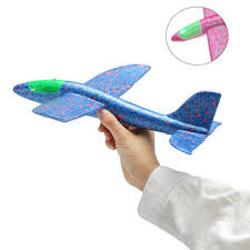 <b>35cm hand launch throwing</b> aircraft airplane glider diy inertial foam ...