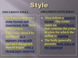 discursive essaydiscursive essay
