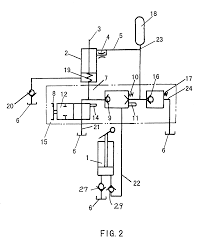patent us    hydraulic jack and a hydraulic circuit for such    patent drawing