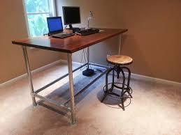 custom standing desk by simplified building concepts via flickr building office desk