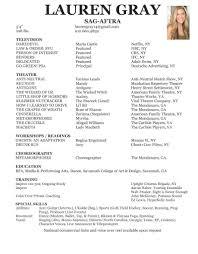 resume lauren gray lauren gray film resume