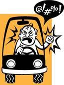 Image result for irritated driver clipart