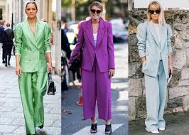 Женские <b>брючные костюмы</b> 2019 года: модные тенденции (фото)