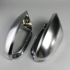 <b>1 Pair</b> Auto Rearview Mirror Shell Cover Protection Cap <b>Matte</b> ...