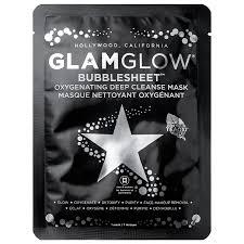 <b>Glamglow</b> Маска для лица <b>очищающая тканевая Bubble Sheet</b> 28г ...