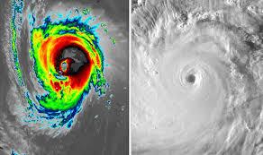 Hurricane Florence vs Typhoon Mangkhut: Which MONSTER storm ...