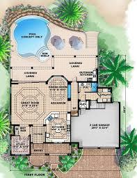 Indoor Pool for Luxury House Plansluxury house plans bedroom luxury beach house plans