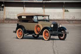 Ford Model A Phaeton 1928 года выпуска. Фото 1. VERcity
